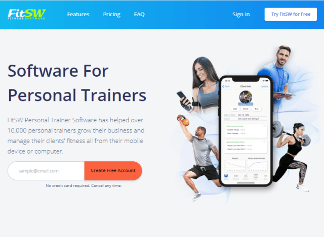 Marketing Funnels for Personal Trainers: CTA example image.