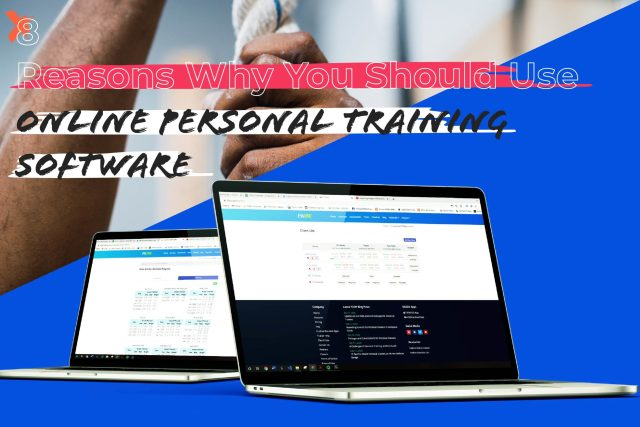 Online Personal Training Software Example