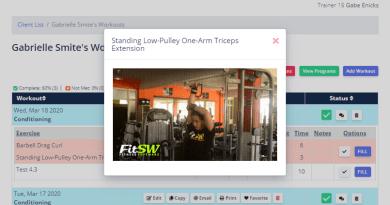 Exercise demo GIFs