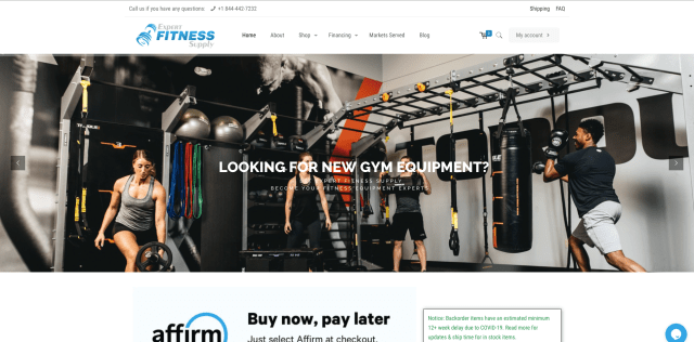 Expert Fitness Supply - Home Gym Packages