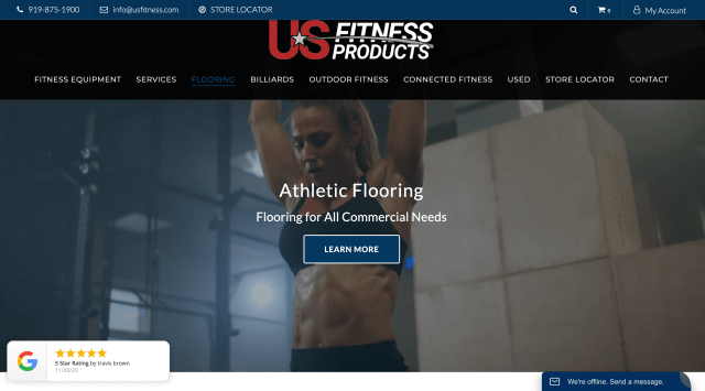 US Fitness - Commercial Gym Flooring