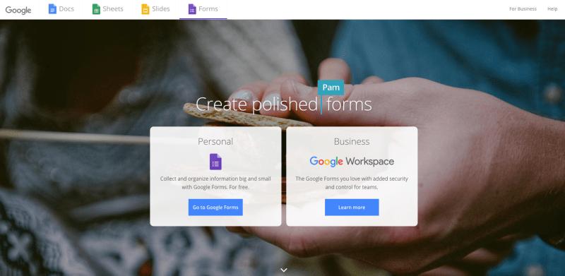 Google Forms for Gym Member Surveys