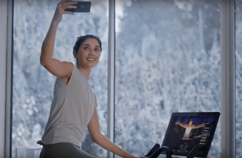 Unsuccessful Gym Advertising Campaigns - Peloton Commercial of Woman Getting Bike for Holidays
