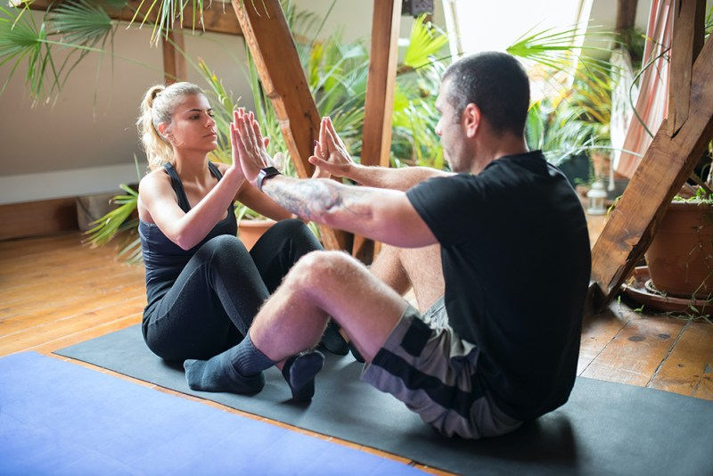 Mobile personal training businesses make training for clients much more flexible