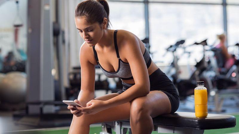 Gym Client using Social Media