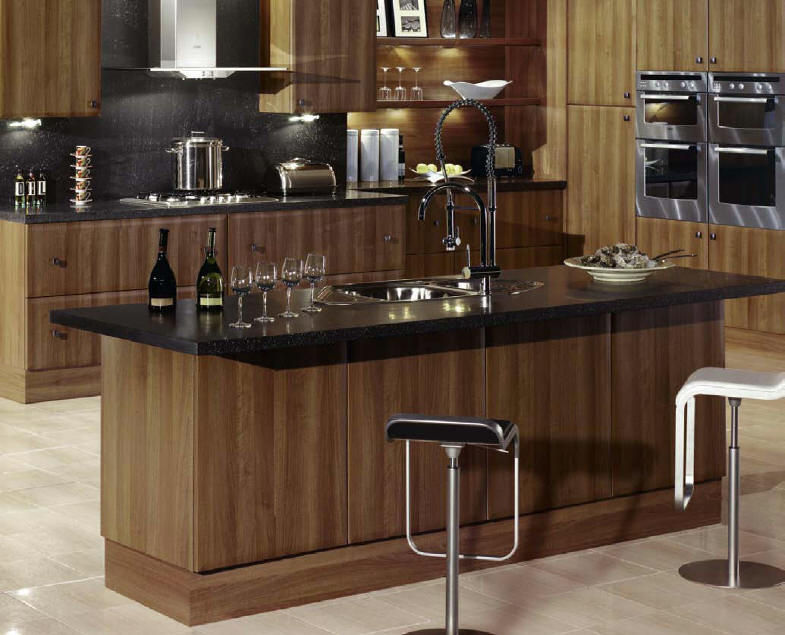 kitchens direct floor for kitchen style axis walnut from fitted an independent supplier your budget or bespoke either supply and fit