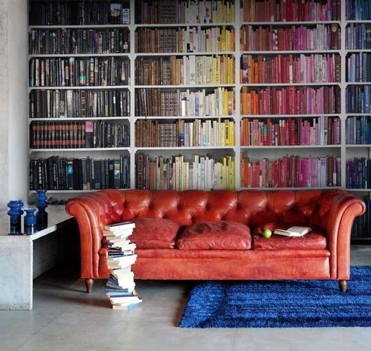 boekenkast kleur