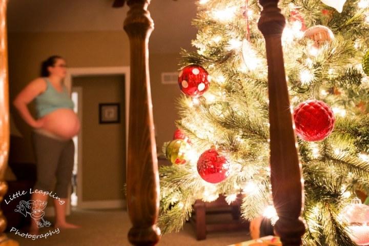 bevallen rond de kerst