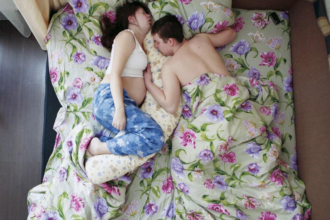 slapen zwangere vrouwen
