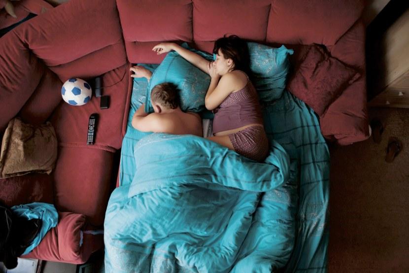 slapen zwanger