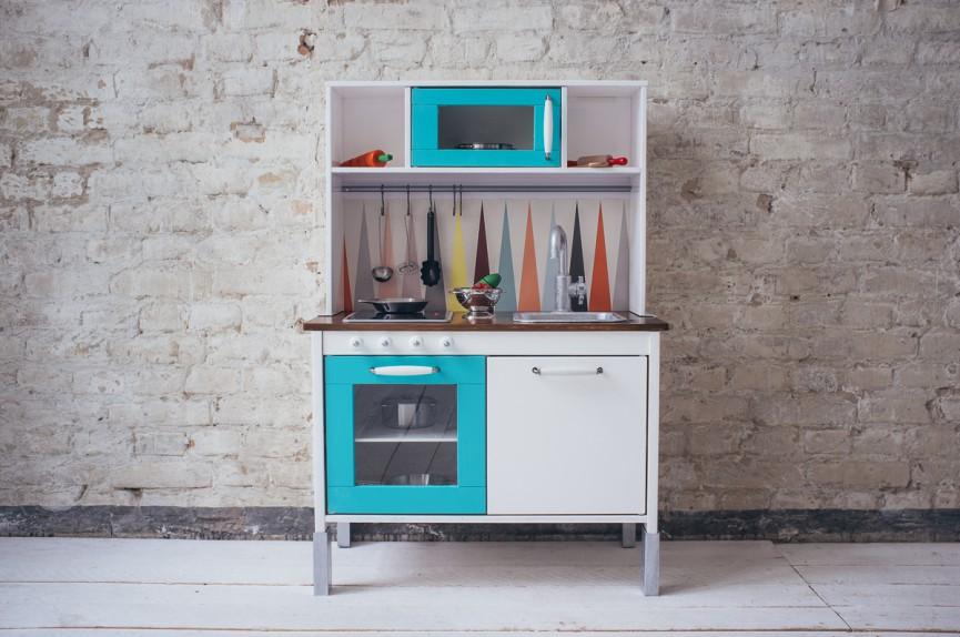 Keuken Speelgoed Ikea : Ideeën om het ikea duktig keukentje een makeover te geven