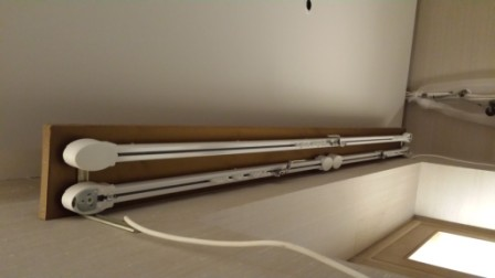 Electric Track System Fitted in Lancaster Gate.