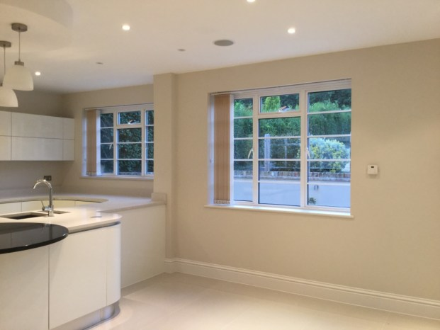 Vertical blind fitted in stanmore