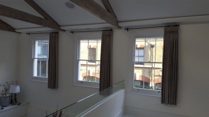 curtain pole installation London