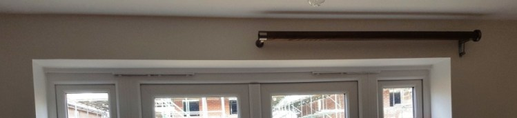 Walcot house curtain pole..