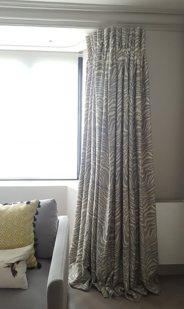 Silent Gliss 1280 and curtains - L..