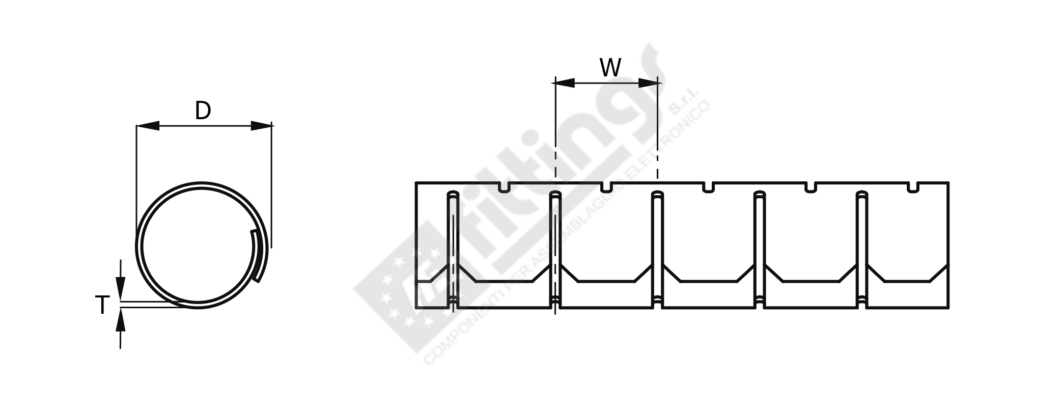Slit Harness Wrap With Installation Tool Shr