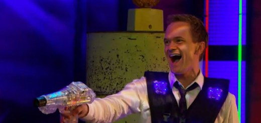 Laser tag with Barney Stinson