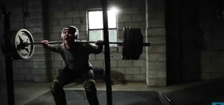 Cory Gregory of Muscle Pharm doing the Squat Every Day program