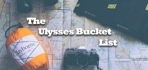 The Ulysses Bucket List
