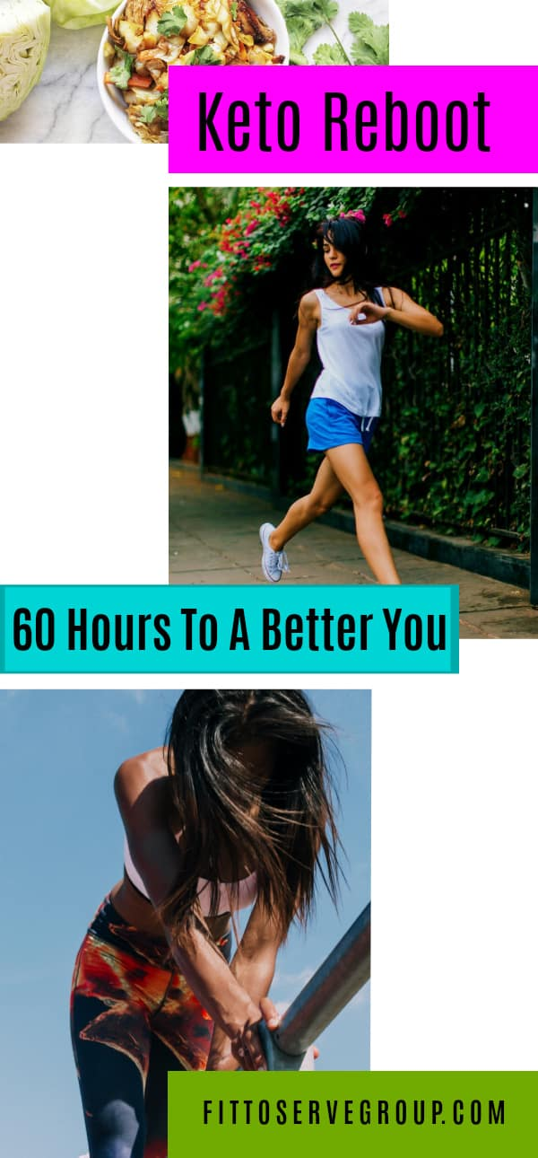 Pruvit 60 hour Keto Reboot a keto that allows you to use exogenous ketones to fast and do a cleanse