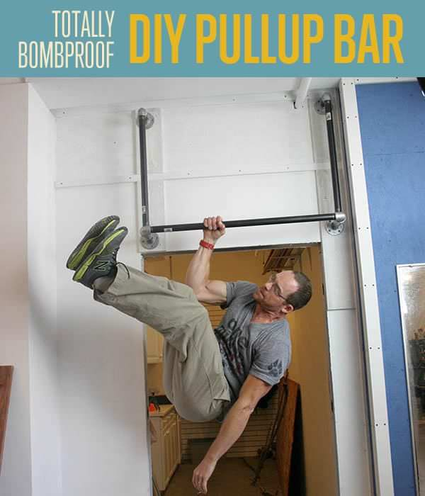21 DIY Pull-Up Bar Ideas To Help You Get Ripped