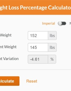 also calculate weight loss percentage calculator rh fitwatch