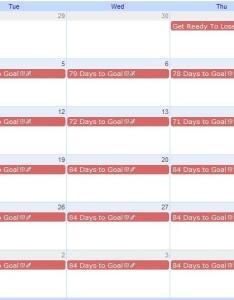 View screenshot also how to create  week weight loss countdown calendar burn that fat rh fitwatch