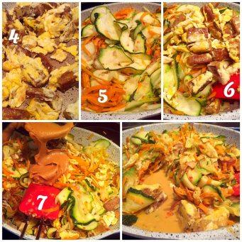 Etapes-recette-veggie-pad-thai