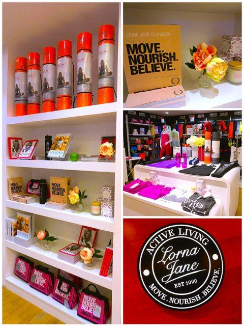 Lorna Jane boutique fit your dreams