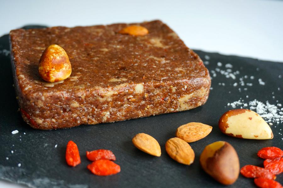 Brownie au chocolat healthy sans cuisson