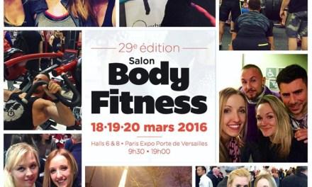 Fit Your Dreams au Salon mondial Body Fitness 2016