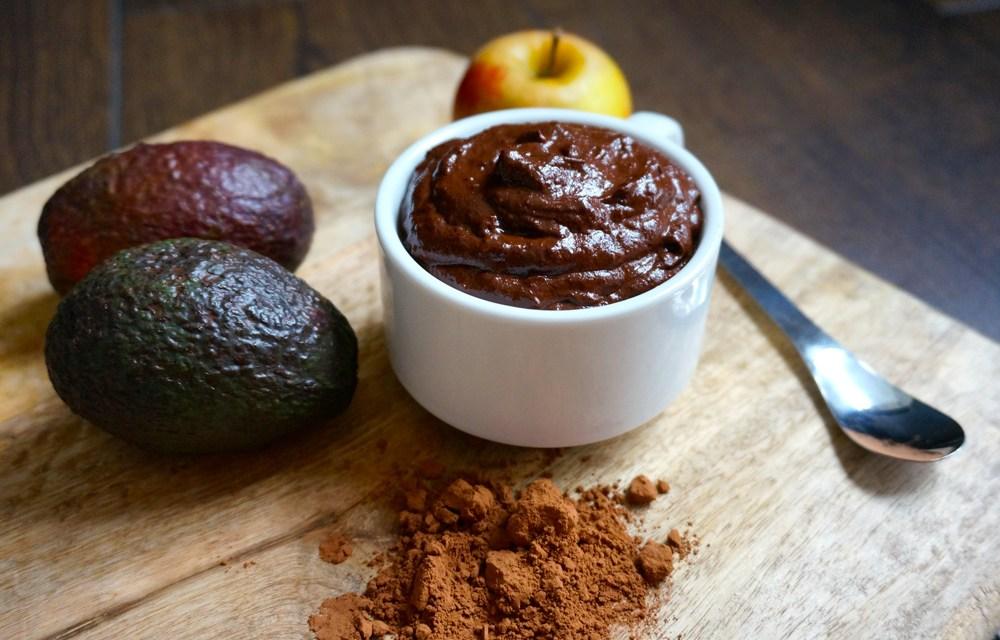 Mousse au chocolat healthy