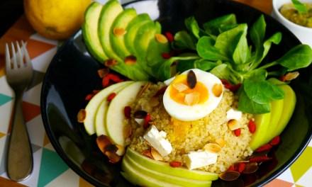 Salade quinoa pomme feta