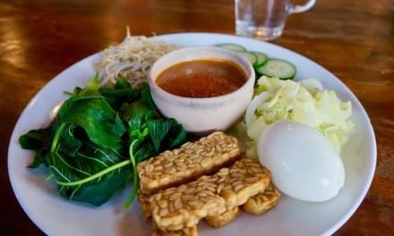 Gado Gado végétarien indonésien !