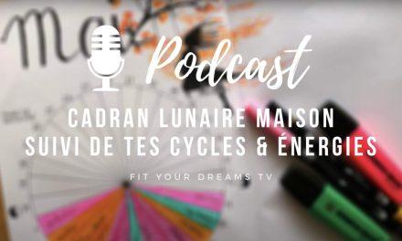 Suis ton cycle et énergies avec ton cadran lunaire maison