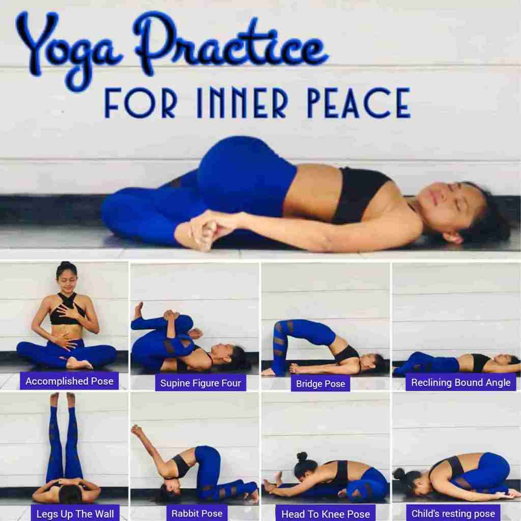 Stress Relief Yoga sequence and pranayama for inner peace - FITZABOUT