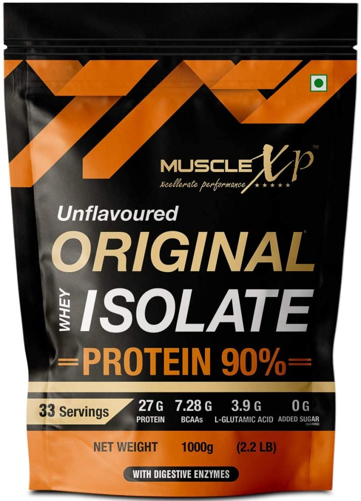 MuscleXP Original Whey Isolate Protein With 90% Digestive Enzyme - Fitzabout