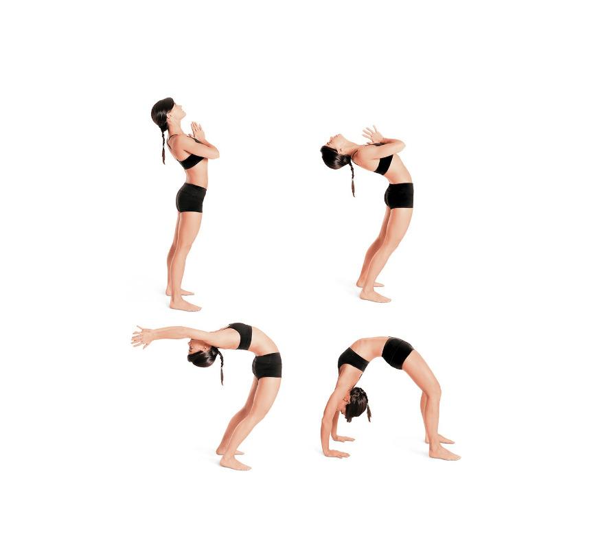 Drop Back Pose Backbend Yoga Pose - fitzabout