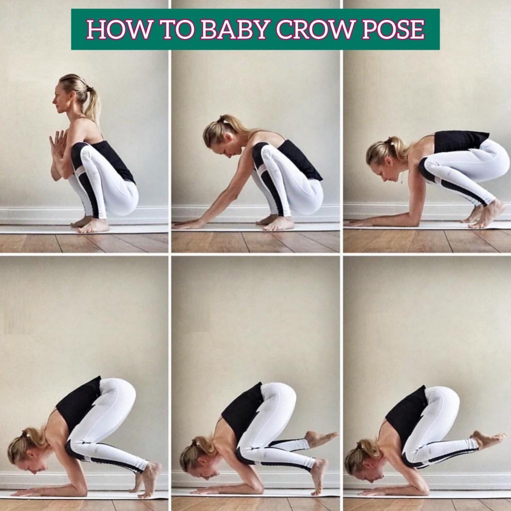 How To Do Baby Crow Pose or Bala Kakasana - fitzabout