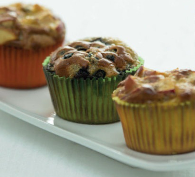 apple and coconut muffins recipe