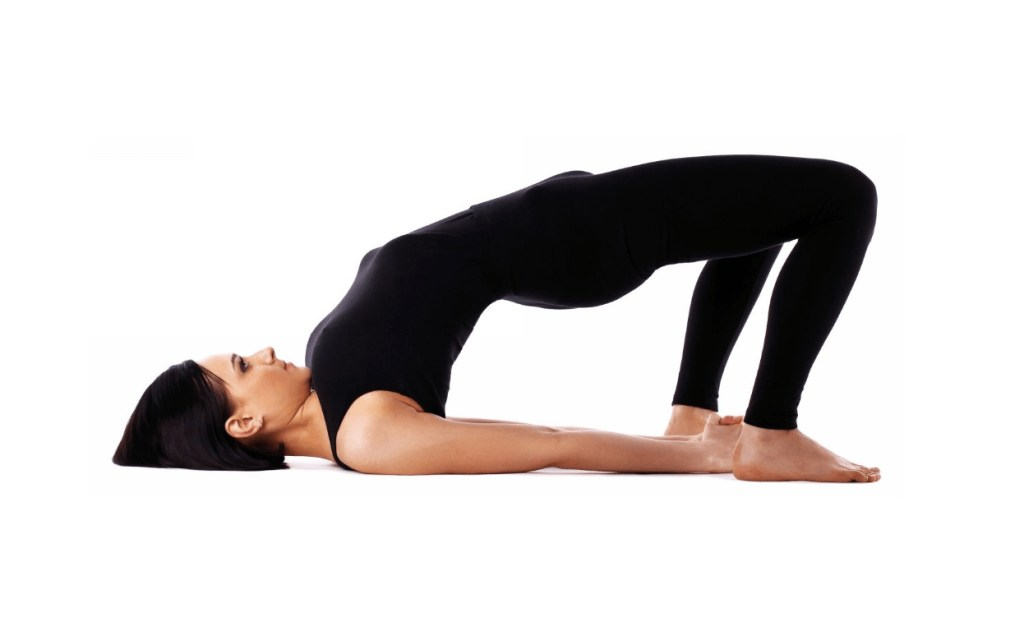 Bridge Pose (Setu Bandha Sarvangasana) to relief back pain - fitzabout