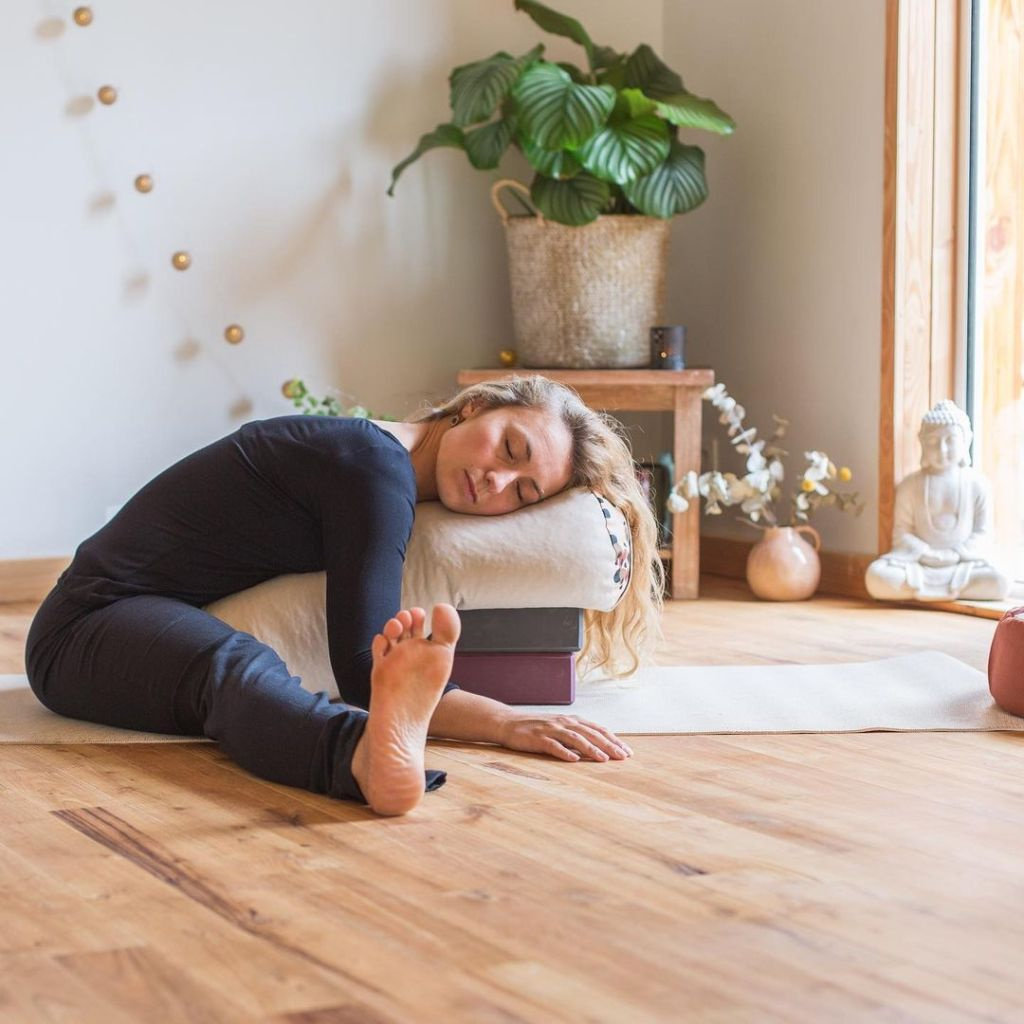 Restorative Yoga Poses To Support Menstrual and Ignite - Fitzabout