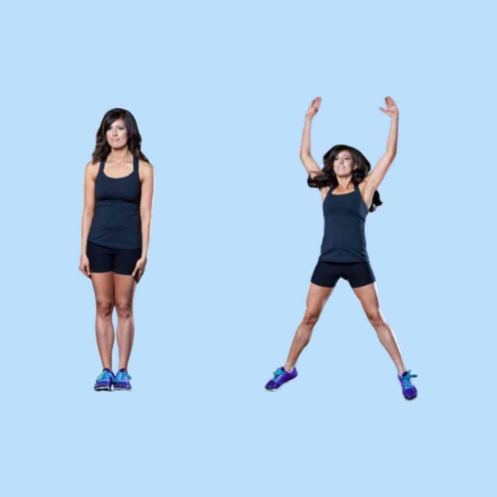 Jumping jack exercise - Fitzabout