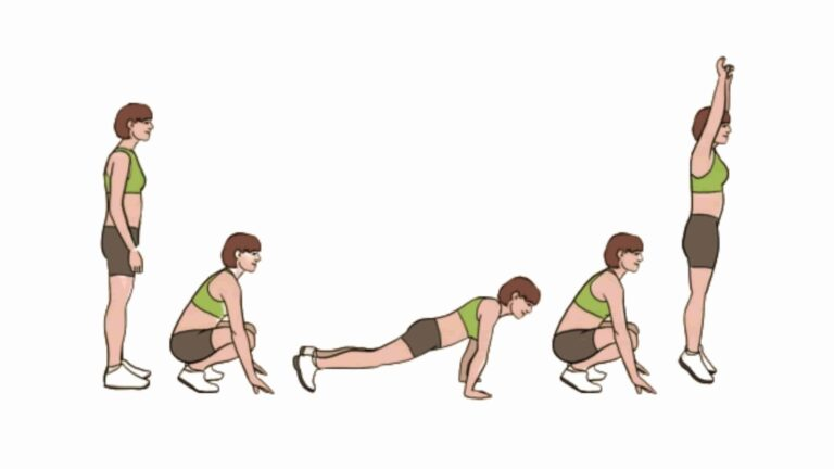 How to do Burpee steps, guide, tips, variations - Fitzabout
