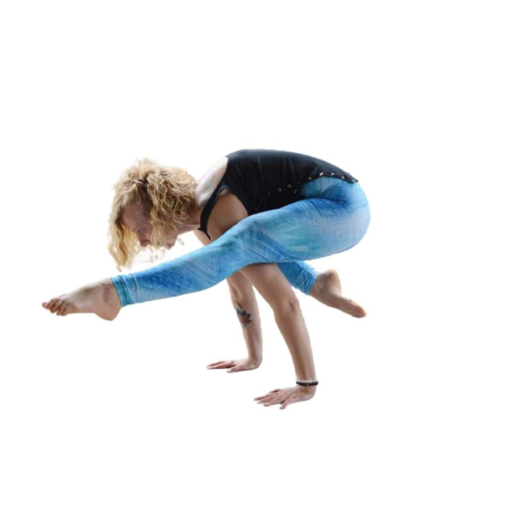 Eka Pada Bakasana II (One-legged Crane Pose II) Steps and Benefits - Fitzabout