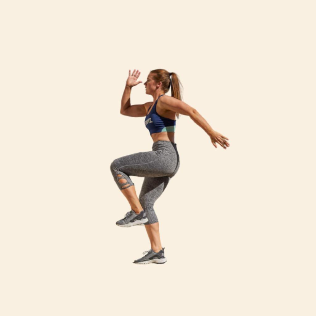 How To Do Jumping lunge and kick exercise - Fitzabout
