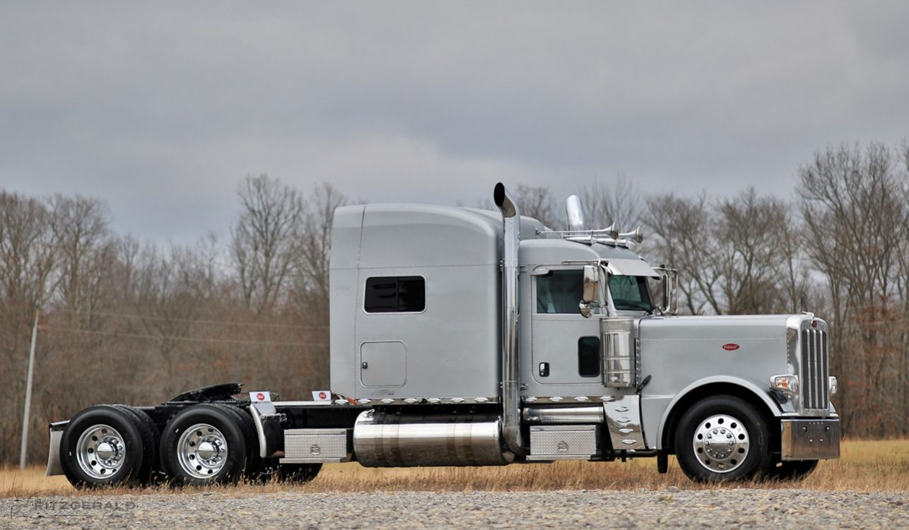 hight resolution of fitzgerald glider kits peterbilt 389 raised roof 9