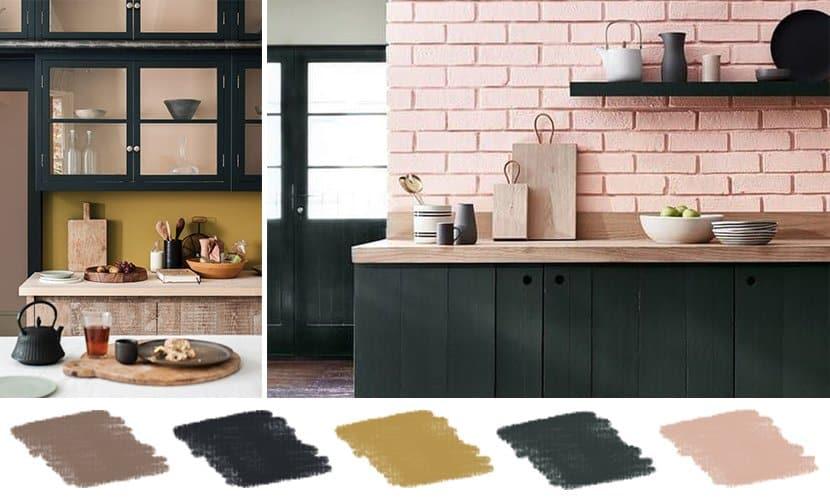 5 colour palettes to