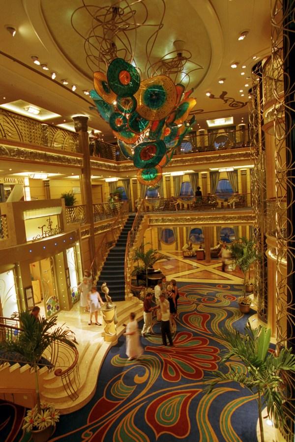 Disney Wonder Cruise Ship Atrium